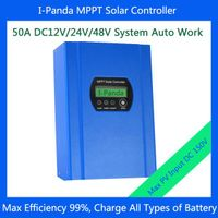 48V 50A MPPT Solar Charge Controller, 48V 50A solar pv regulator with Max Power Point Tracking (MPPT thumbnail image