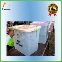 Custom-made PP Corrugated Plastic Ballot Box thumbnail image