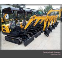 CE Approved 1.8Ton Hydraulic Excavator With Laidong Engine