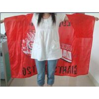 football fans body flag cape flag for cheering body flag