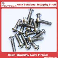 M5 M6 M8 Titanium Button Head ISO 7380 Hexagon Socket Head Screw Bolt Metric Fastener