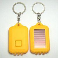 solar led keychain torch