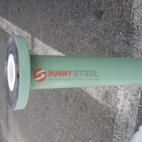 Abrasion&wear resistant alumina ceramic sleeve lined pipe