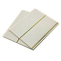 Kitchen Two Golden Lines PVC Ceiling tiles Decoration PVC Wall Panels Wooden Color Moisture - Proof