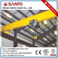 Electric LDA model single girder overhead crane with electric hoist thumbnail image