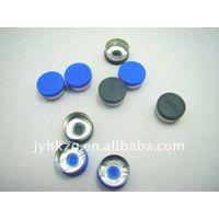13mm flip off cap alu-plastic cap with custumer's design thumbnail image