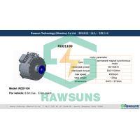 Rawsuns powerful 1100Nm 160kW ev motor electric conversion kit controller inverter for 6.6m bus coac