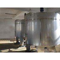 heated stainless steel mixing tanks China