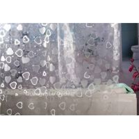 New customize PEVA waterproof environmental shower curtain high quality factory