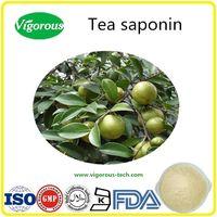 ISO manufacturer Organic Camelia Oleifera Extract 90% Tea Saponin Powder