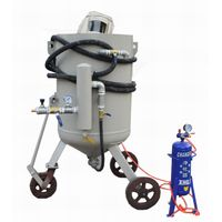 2018 hot sale BA-600 sand blasting equipment with air purifier