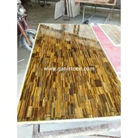 Yellow Tiger Eye Gemstone Table Top