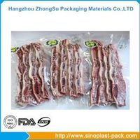Meat vacuum packaging plastic film bag