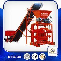 QT4-35 fly ash block making machine block machinery
