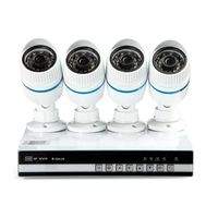 4CH 960P network NVR +4pcs IP IR 1.3MP Cameras CMS/3G/Onvif/P2P thumbnail image