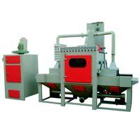 BA-1200SA customized automatic sandblaster / conveyor belt sandblasting machine