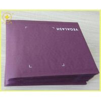 purple color paper craft envelopes
