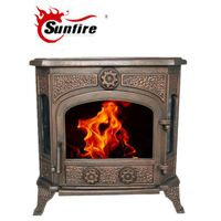 Popular Cast Iron Wood Burning Stove for Sale