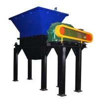 China Factory Recycling Use Mini Plastic Shredder