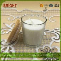 Best Selling Glass Jar Candle With Wooden Lid