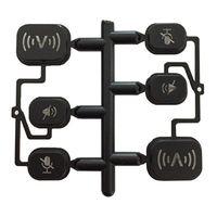 push button switch plastic laser cap,customized symbol thumbnail image