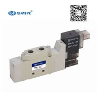 5V3000/5000 Series Solenoid valve, Aluminum alloy Pneumatic control valve,low power mini guide vavle