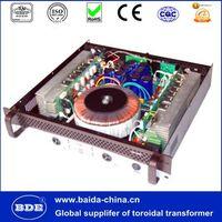 Isolation transformer for D.J. amplifier