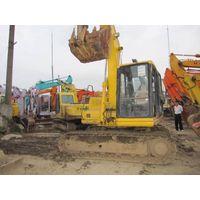 komatsu excavator PC120, used construction machinery