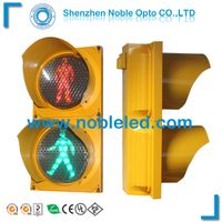 LED pedestrian Traffic Light in yellow cover