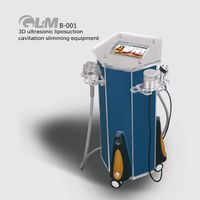 4 in 1 3D ultrasonic rf vacuum with infrared light slimming equipment