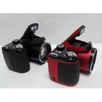 Professional SLR Digital Camera with 16.0 mp CMOS sensor and 21xoptical zoom