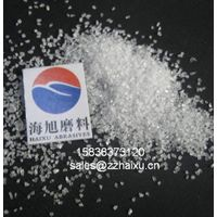 white electrofused-alumina sand
