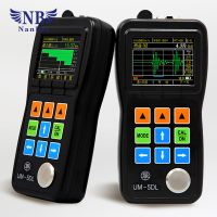 Ultrasonic thickness gauge with LCD digital diaplay thumbnail image