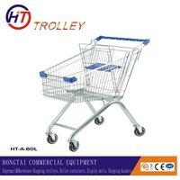European style shopping cart on wheels for sale