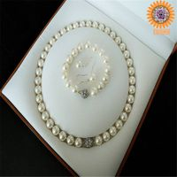 wholesale fashion meaningful shell pearl jewelry set