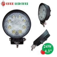 "Wholesale 4.3"" Round 4x4 Truck 24W Led Work Light"
