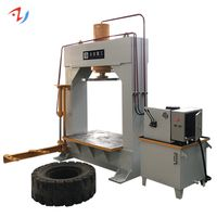 Forklift tyre removal change machine hydraulic press 150/200 ton thumbnail image