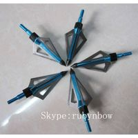 Three blade broadheads