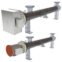 industrial air heaters electric heaters for dust removal in power stations thumbnail image