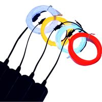 EL wire for Bar decorated el light,multi colors custom length, plug-in and battery power supply