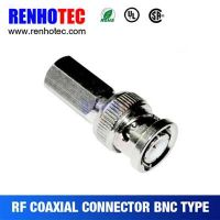 Twist On BNC Plug RF Connector