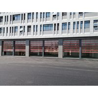 Ce Approved Steel PU Insulated Residential Automatic garage door with Pedestrian Door thumbnail image