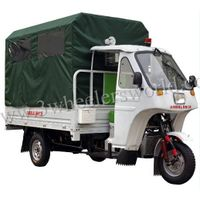 200cc used cheap ambulance car for sale, 3 wheeler tricycle from China top manufacture