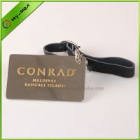 High quality metal luggage tag