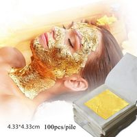 Anti-wrinkling and anti-aging 24K real gold facial mask for beauty salon