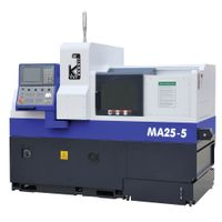 5 Axes Swiss CNC Precision Automatic Lathe MA255