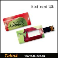 Low Price Hot Selling Credit Card USB Flash Drive, Usb Stick for Promotional Gifts thumbnail image