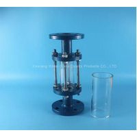 large diameter pyrex clear glass tube