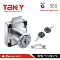 Zinc alloy Furniture 338-22 cabinet drawer lock