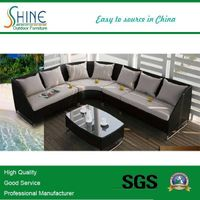 Hot Sale Cheap Garden Rattan Sofa Set C684